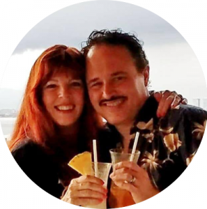 John Perdiagao and Cindy Bozeman in Mexico